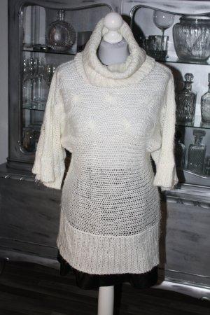 Rollkragenpullover Pullover Longpullover 36 VERO MODA ecru weiß
