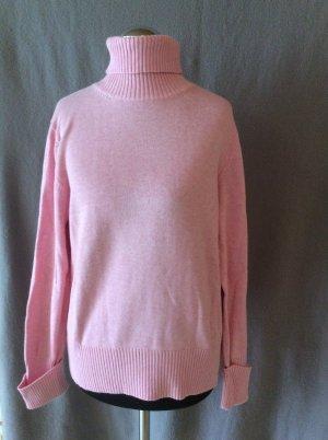 Rollkragenpullover rosa Gr 38