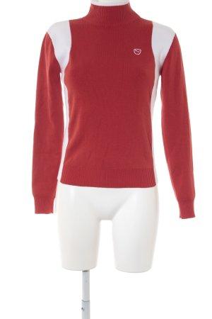 Coltrui rood-wit gestreept patroon atletische stijl
