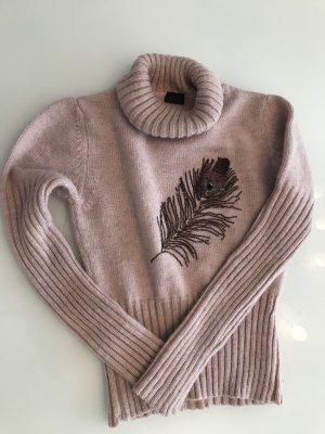 Joop! Turtleneck Sweater light pink-rose-gold-coloured
