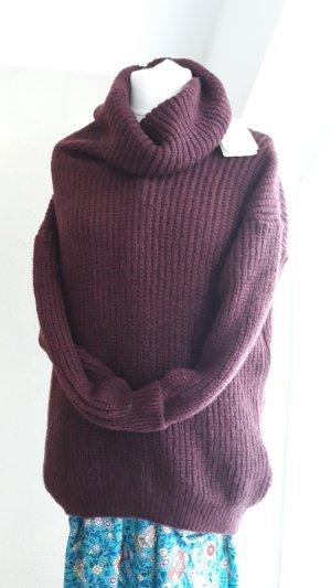 Oversized Sweater bordeaux