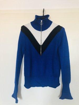 Rollkragenpullover Zara blau