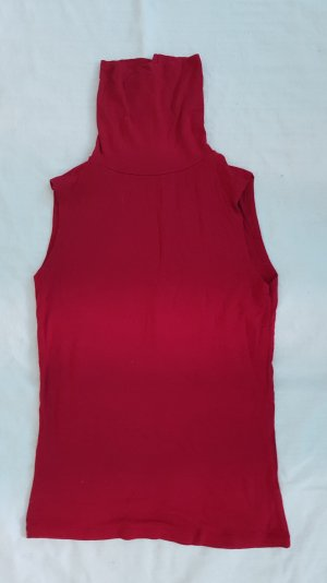 Mötivi Camisa de cuello de tortuga rojo