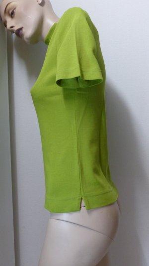 Lisa Campione Turtleneck Shirt olive green cotton