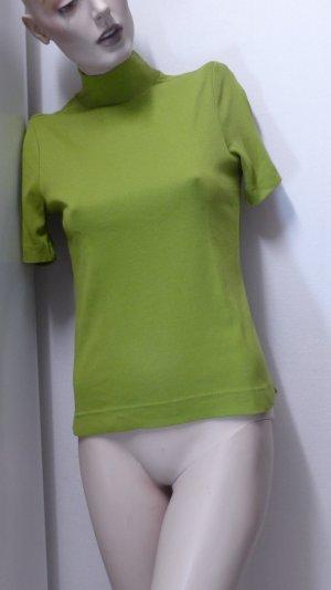 Lisa Campione Colshirt olijfgroen Katoen