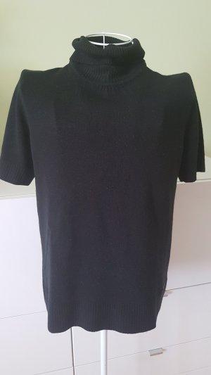 Tchibo / TCM Turtleneck Shirt black polyacrylic