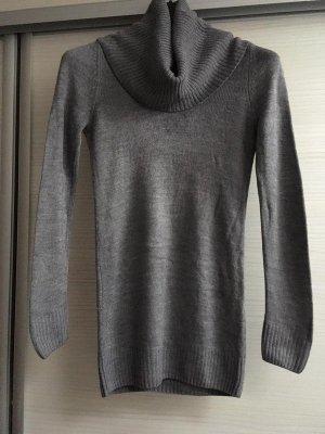 H&M Jersey de lana color plata