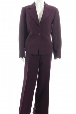 ROman Hosenanzug braunviolett Business-Look