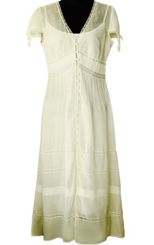 *  Romantik  Batist  Kleid  *  Gr. L-XL  *