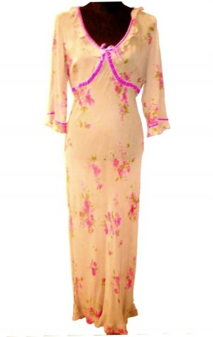 *  Romantik  Designer  Kleid  *  Gr.L  *