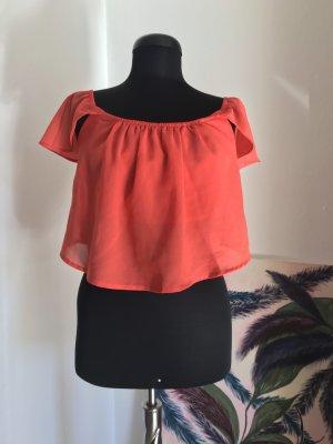 Tally Weijl Carmen blouse baksteenrood-rood