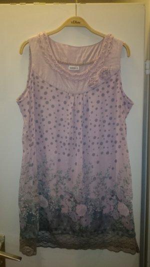 romantisch verspieltes Chiffon Kleid mit tollem Print