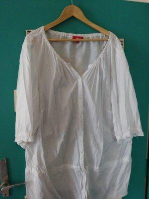 THEA 42 plus Blusa alla Carmen bianco