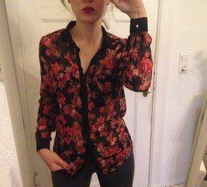 Romantische Bluse mit Flowerprint von Pimkie