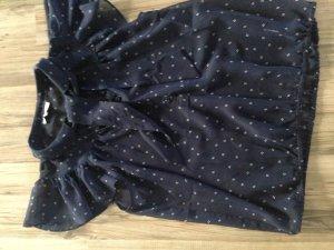 Romantische Bluse mit Schluppe in weich-fließender Qualität
