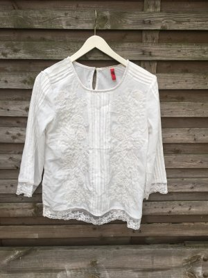 QS by s.Oliver Blouse blanc