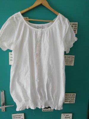 okay Camisa tipo túnica blanco