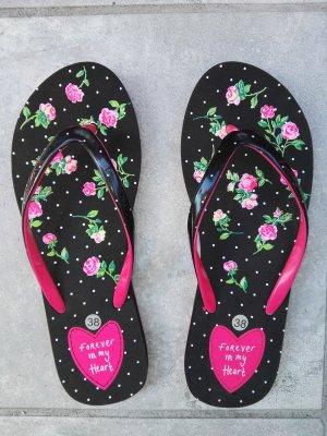 Romantische Flip Flops