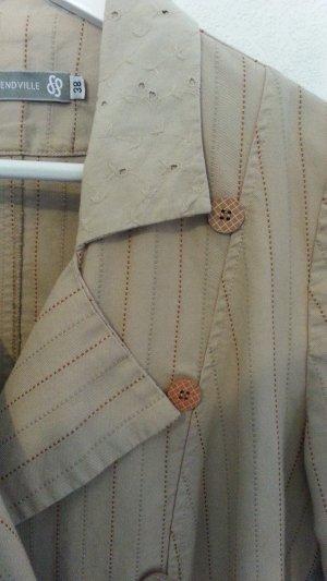 Romantische Jacke Blazer aus Belgien Françoise Pendville - mit schönen Details Gr. 38