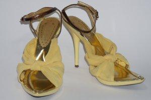 Strapped High-Heeled Sandals primrose