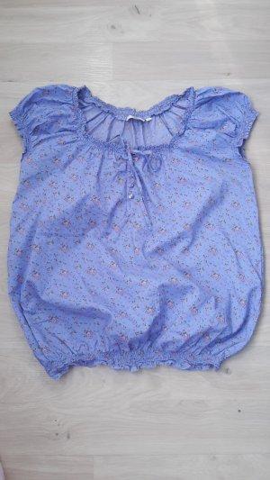 Anne L. Blouse pink-blue
