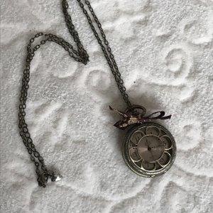 romantische Vintage Taschenuhr - mit neu ausgewechselten Batterien