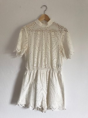 H&M Tuta bianco Cotone