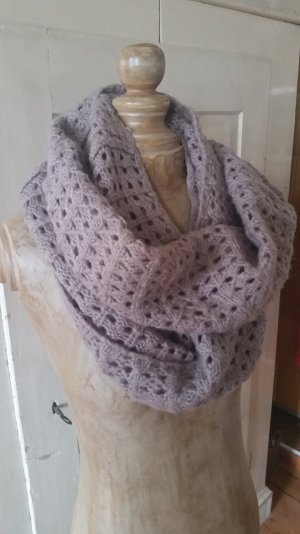 & other stories Knitted Scarf mauve