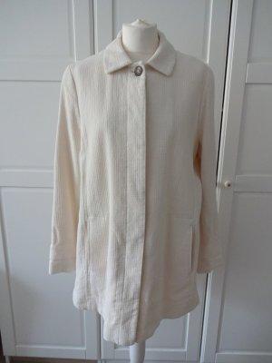 romantischer Mantel creme baumwolle 50er stil