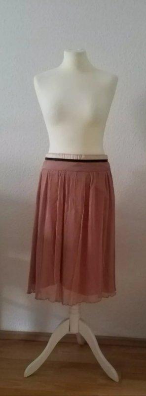 Kookai Tulle Skirt pink viscose