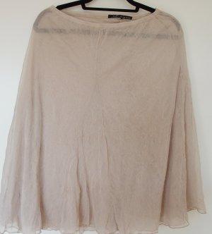 Mado et les Autres Tulle Skirt cream-oatmeal polyester