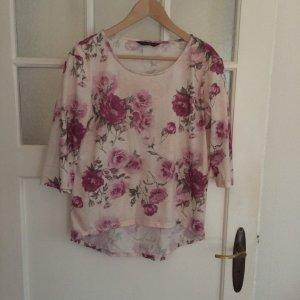 Romantisches 3/4 Shirt mit Rosen