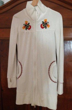 Blutsschwester Sweater Dress white cotton