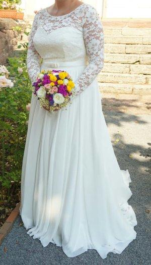 Robe de mariée crème