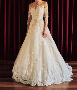 Romantisches Brautkleid Gr. 34/36 von La Sposa (Pronovias)