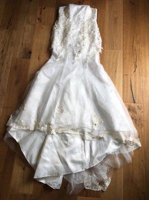 Romantisches Brautkleid trägerlos NEU