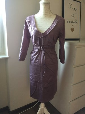 Romantisches Kleid in altrosa mit 3/4 arm