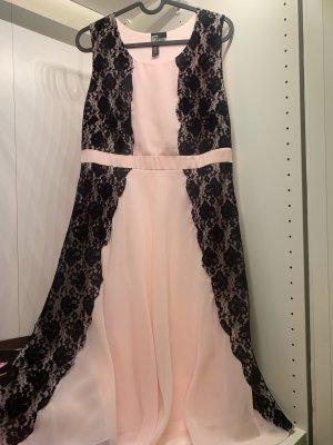 b.p.c. Bonprix Collection Midi Dress pink-black