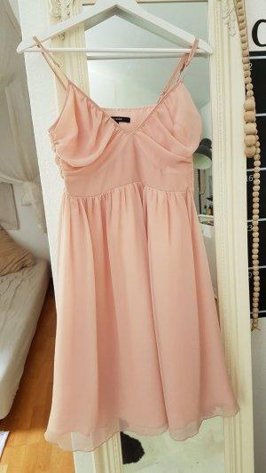 Hallhuber Vestido a media pierna rosa empolvado-rosa