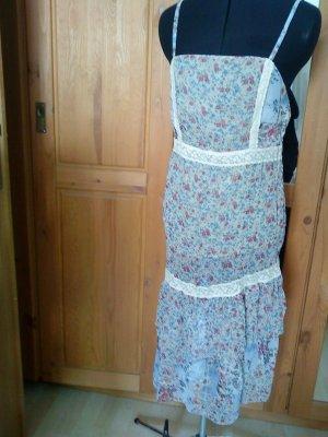 romantisches Kleidchen aus Italien von le muse aus chiffon 38 passt bei Größe 36