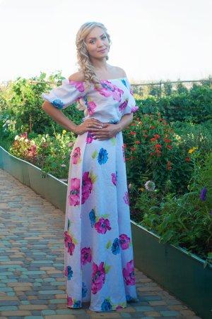 Romantisches maxi Kleid