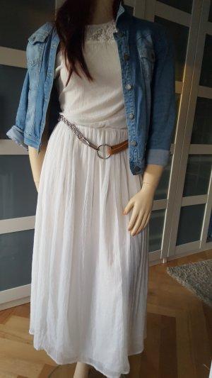 Evaw Wave Robe Hippie blanc-blanc cassé polyester