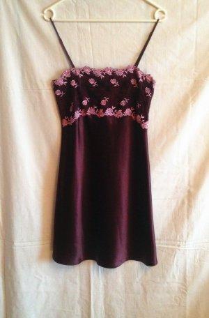 Romantisches Nacht Kleid von Darjeeling mitSpitzen Gr. 36  wie Neu