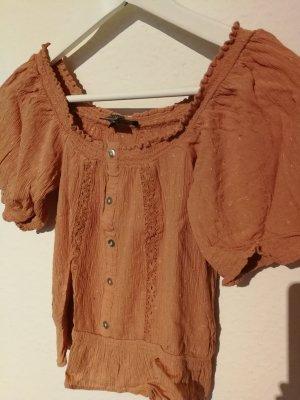 Primark Cropped Shirt multicolored viscose
