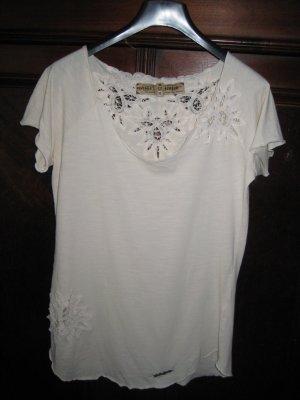Romantisches Shirt von Khujo Gr. XL, ca. Gr. 40