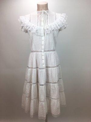 Romantisches weißes Sommerkleid von Ralph Lauren