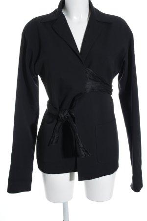 Romeo Gigli Long-Blazer schwarz Elegant