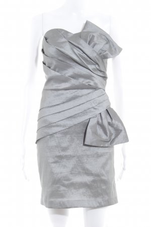 Romeo & Juliet Couture Ballkleid silberfarben Elegant