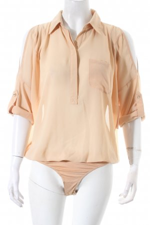 Romeo & Juliet Couture Bluse beige Casual-Look