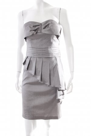 Romeo & Juliet Couture Bustier Dress silver-colored metal look